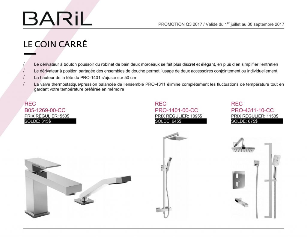 promotion baril