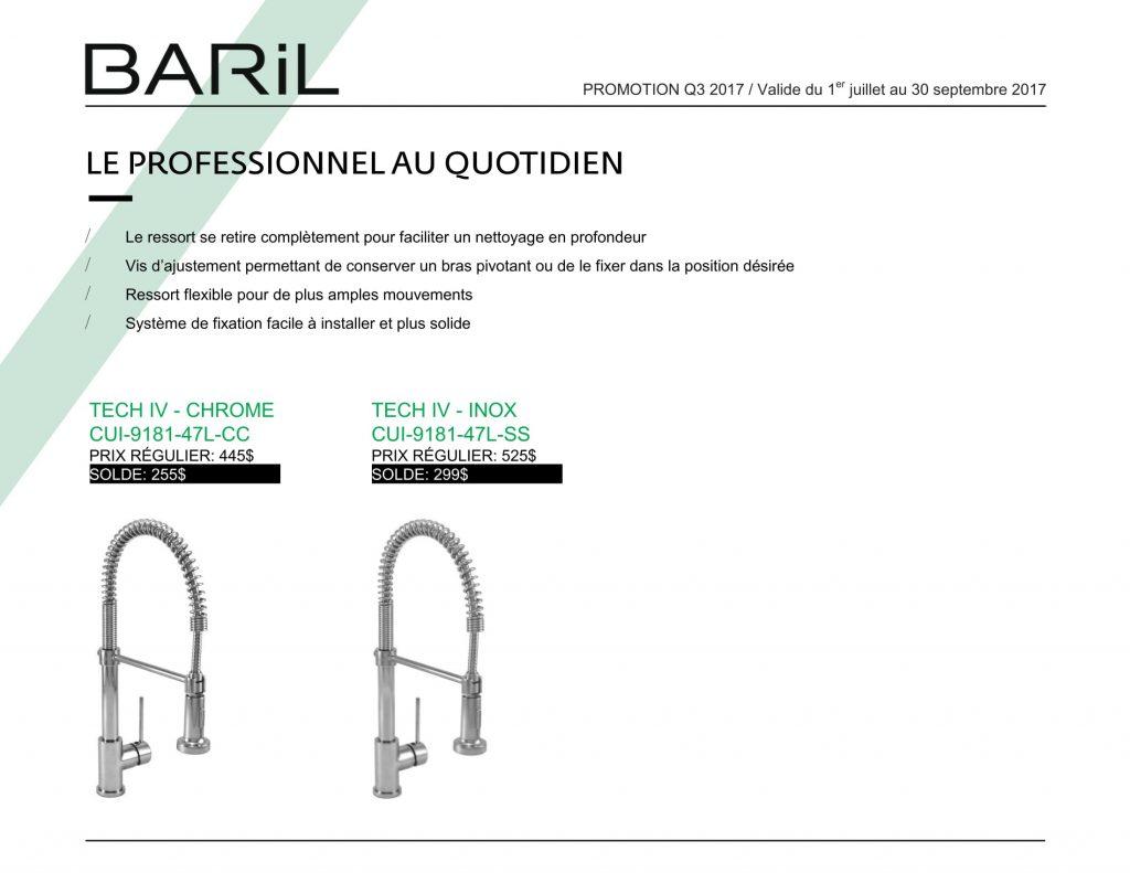 promotion produits baril