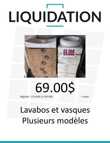 lavabos et vasques divers